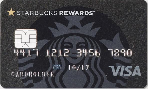 Starbucks credit card