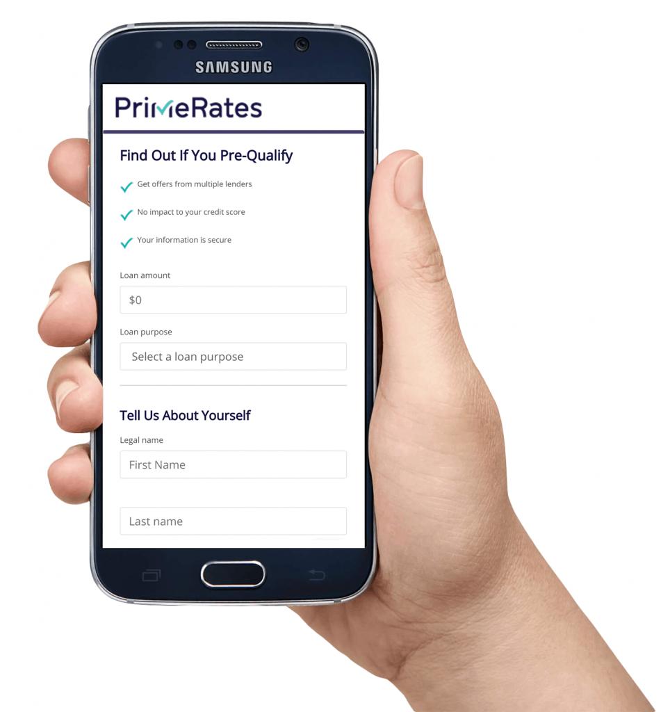 Smartphone Prequal App4